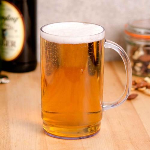 Vaso Cervecero Plástico 500ml Policarbonato Irrompible