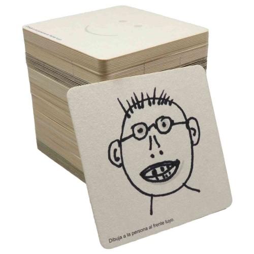 Portavasos Cartón Juegos