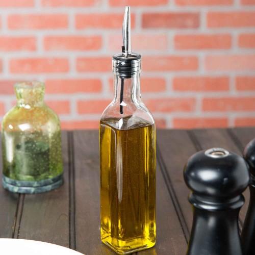 Recipiente Vidrio Aceite o Vinagre 8oz