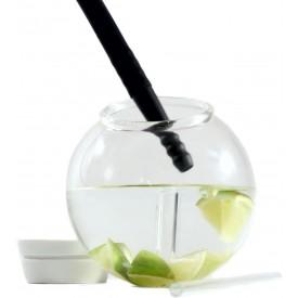 Vaso Esfera Vidrio Para Cocteles Ahumados 9oz